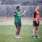 Wet weather training - Eels return to training fields during Rep Round.  Check out all the photos of the Blue & Gold in action: https://t.co/z553LdRE3e #blueandgold
