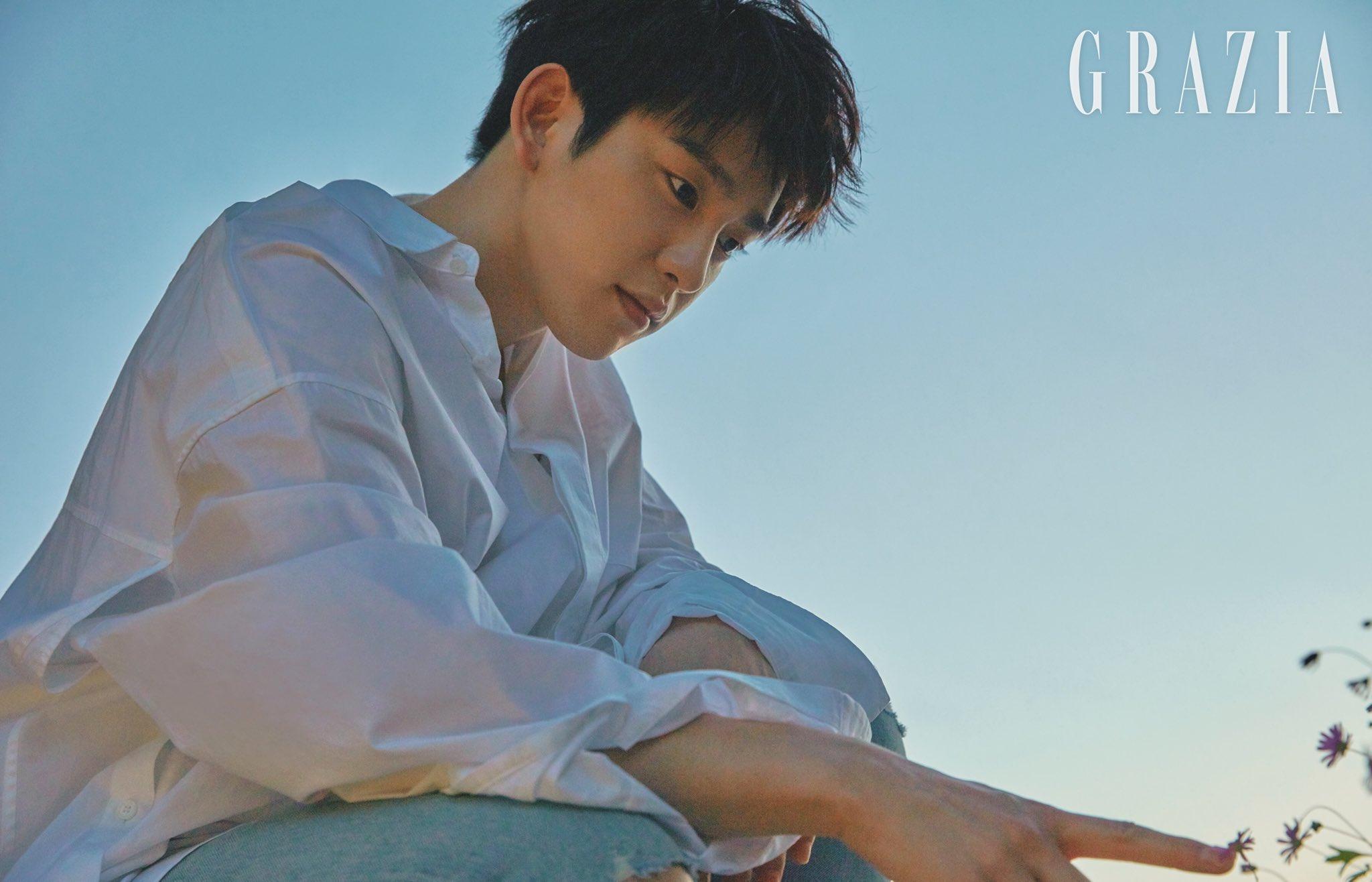 Jinyoung X Grazia Korea July, 2018   #진영 #GOT7 #갓세븐 https://t.co/FehNyf0bFq