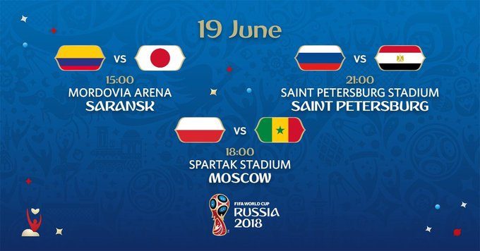 📍Another three games today😊 Senegal takes on Poland later in the day. Will they be the first team to win Africa some points? #WorldCup #3Sports Photo