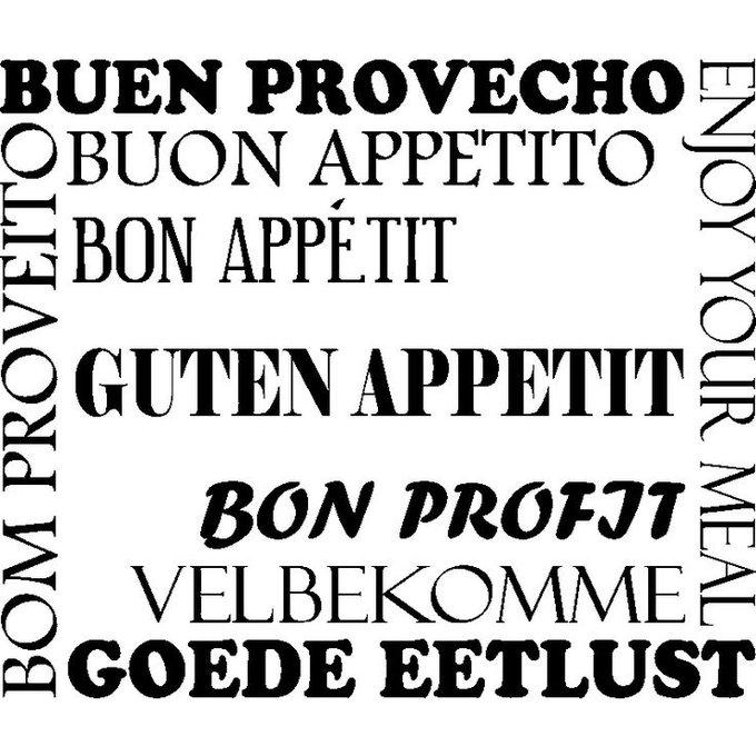 Toujours important de bien choisir sa langue pour un voyage de plaisirs gustatifs 😋...Bon appétit Ter Tous 😊😉😉 #MardiConseil Photo
