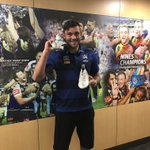 Find out how you can win yourself a pair of @feldt092's game-worn boots!  https://t.co/UVAF5VQ1Gf  #ridemcowboys