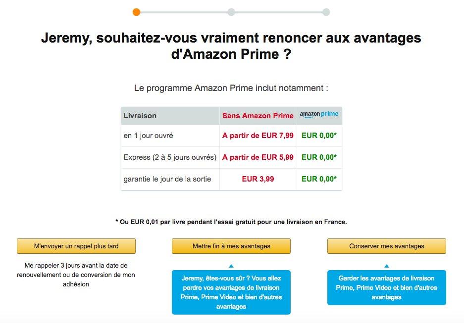 Steeve On Twitter Quitter Amazon Prime C Est Plus Dur Que De