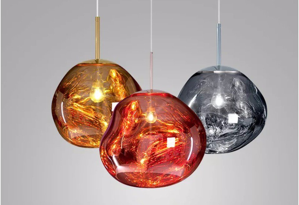 Post Modern Melt Pendant Lights Gl Lava Irregular Hang Lamp For Living Room Bedroom Restaurant Home Lighting Check This At Flint Aliexpress