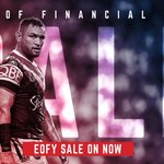 🐔EOFY SALE!🐔 Grab a bargain in the Roosters store with prices marked down on great merch including winter wear! Don't miss out, stocks limited. Click- https://t.co/rcAJpj94du and clean up! #EastsToWin