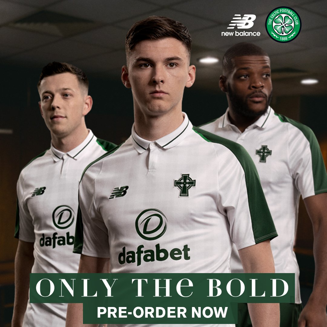 b70b50b6e Introducing the stunning new  CelticFC 2018 19  NBFootball Away Kit.   OnlyTheBold