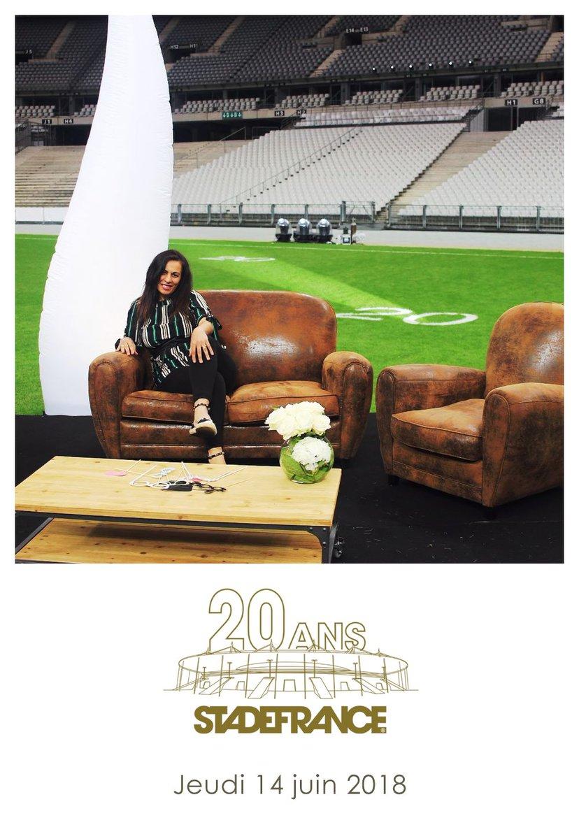 20 ans du @StadeFrance #football #concert #event @MeriemBelazouz - @saloncoworking Ambiance  #cool #peace dans le lieu le plus mythique de France #@StadeFrance #Champion  ##France98VSFifa98 #CoupeDuMonde2018 vs #CoupeDuMonde1998 - 1 Victoire 20 ans après #coworkingfoot   - FestivalFocus