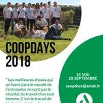 Image for the Tweet beginning: #COOPDAYS2018 // Le challenge des