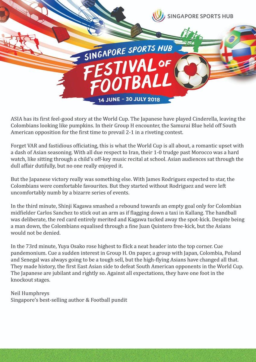 Singapore Sports Hub on Twitter: