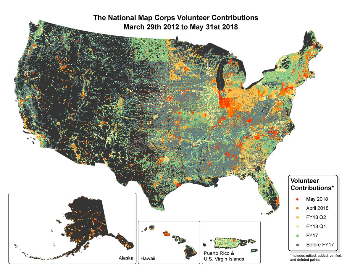 The National Map on Twitter: \