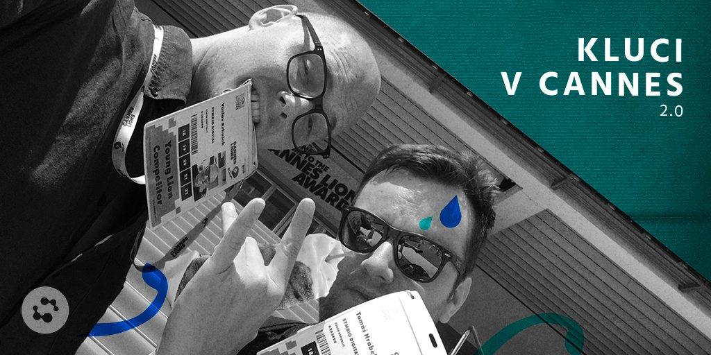Václav s Tomášem letos opět soutěží v @Cannes_Lions. Držíme jim palce a tak trochu jim tu pánskou jízdu na francouzské riviéře závidíme. Sledujte je na našich Insta Stories – https://t.co/fwoKSOHO50 https://t.co/ofJaPyZSjy