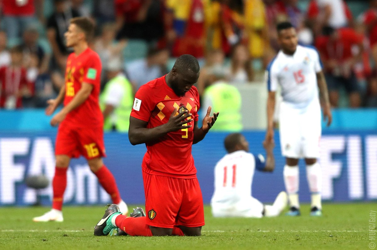 .@RomeluLukaku9 has scored 1️⃣5️⃣ goals in last 🔟 international appearances 🔥🔥🔥