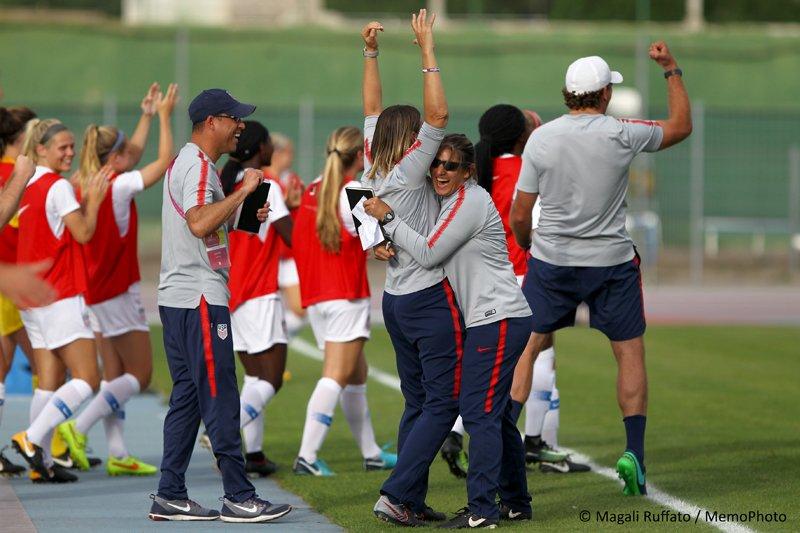 Retour en images sur la dernière journée de la Sud Ladies Cup à lissue de laquelle @ussoccer_wnt a décroché le trophée ! 🇺🇸🏆 📹VIDÉO ▶️festival-foot-espoirs.com/ladies/detail_… #SudLadiesCup