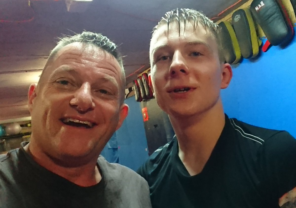 Good Gains in Movement & Fight IQ fm Kacper this Morning - If your not Training, Your not Improving - So dont then moan when hungrier Fighters Overtake You @theTHNDRcat @BenRees_MMA @kacperzdunczyk #Ldfighters #MMA #UFC #Exetermma