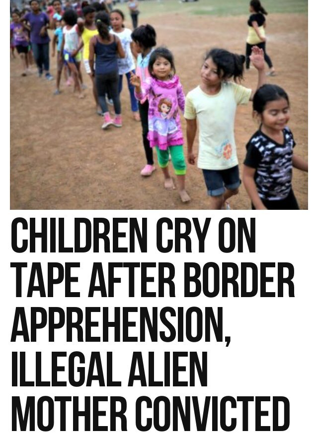 Now We Are Supposed To Open Our Borders To All Invaders  Because Leftists Produced A Tape Of Children Crying  How About A Tape Of Parents Whose Children Were MURDERED BY ILLEGALS Crying⁉️  #BuildTheWall  https://t.co/lLD5lchJKX