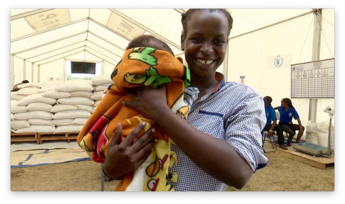 Small things, like bags of food & blankets, make moms like Deborah smile. New technology makes support more effective & helps  access #refugeesthe resources they need to rebuild & recover. WATCH 🎥    #WorldRefugeeDay#USAIDTransforms@USAIDFFP@USAIDUganda