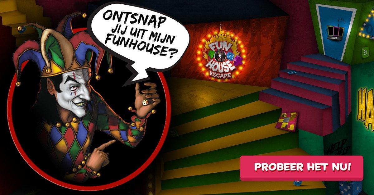 """999 Games в Twitter: """"Probeer de 999 Games funhouse! In deze ..."""
