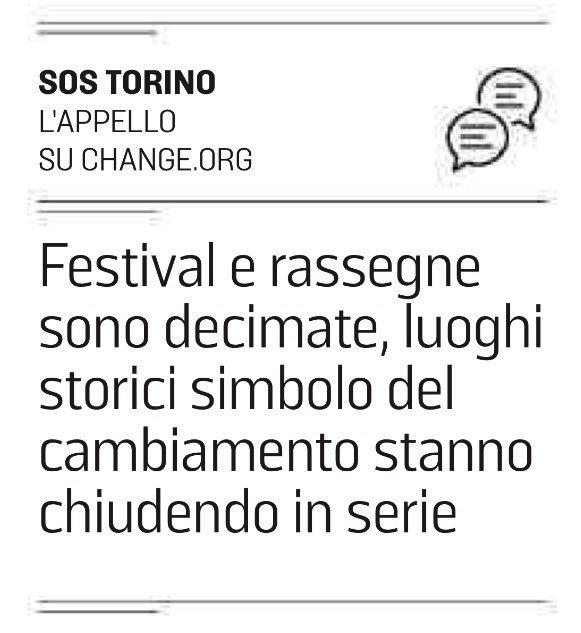 """Per tutti quelli che, """"Ma #Torino è bellissima!!"""" Si, è bella ma non balla #sostorino #aiuto #mortecivile. Oggi su @LaStampa (di carta)   http:// www.lastampa.it/2018/06/18/cronaca/sos-su-fb-troppi-locali-chiusi-a-torino-BUotA3YkY6H3I2HUplosKM/pagina.html  - Ukustom"""