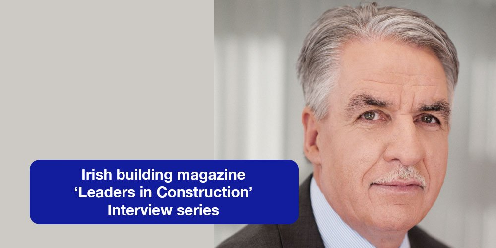 A cornerstone of Leo Lynch Group's strategy under managing director Sean Smith is to maintain and invest in its loyal workforce. Click the link to read Sean's 'Leaders in Construction' interview with Irish building magazine now:  https:// tinyurl.com/y9w23atu  &nbsp;   #LeadrsInConstruction<br>http://pic.twitter.com/80DNm9IbVt