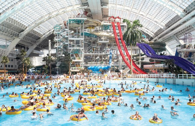 MIAMI GREENLIGHTS ULTRA-MAX MEGA MALL WITH SKISLOPE & ROLLERCOASTER, GOES LONG ON RETURNS FOR STELLAR #CLIMATECHANGE #ANTHROPOCENE GETTY IMAGE ROYALTIES Photo