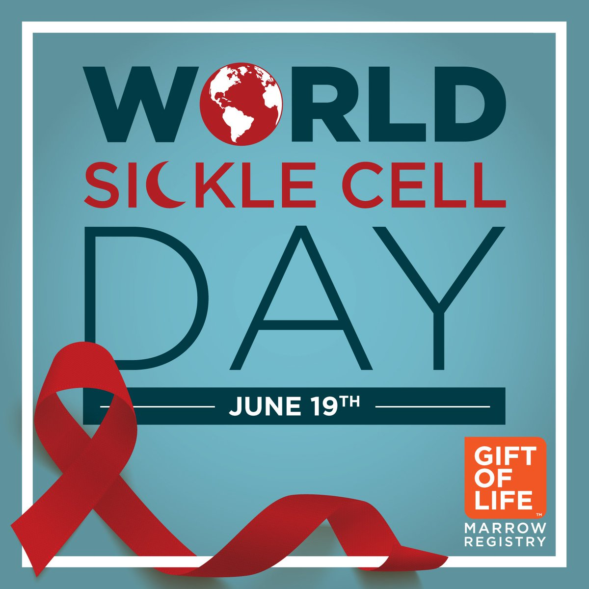... a simple cheek swab and help those battling #sicklecell get a second chance at life! http://giftoflife.org/register #youcurepic.twitter.com/0QmCwuSiYz