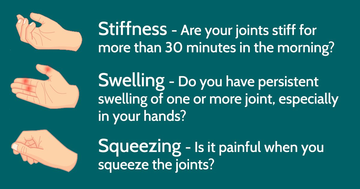 The Early Signs And Symptoms Of Rheumatoid Arthritis Ra Please Share This Post To Help Us Raise Awareness And Reframerapic Twitter Com Al94pcfyyf