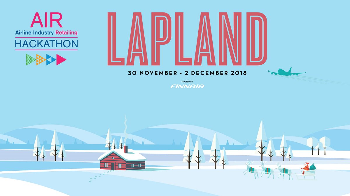 Attention all coders and developers interested in enhancing airline retailing! We are proud to be the host airline for @IATA The AIR Hackathon Lapland 30 Nov – 2 Dec! Now is the perfect time to start planning your trip to #Levi! #hackAIR #hackathon ow.ly/yqJO30kz0eZ