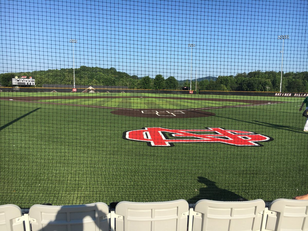 Possibly the most beautiful ball field in the South. North Greenville University Crusaders. @Crusader_Sports #CBG Pitchers and catchers camp. <br>http://pic.twitter.com/IXEamopezj