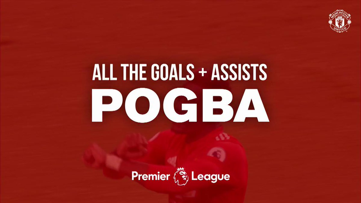That strike v Swansea 💫😍 To watch all of @PaulPogbas #PL goals and assists head to #MUFCYouTube: manutd.co/K-X