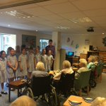 The Chamber Choir visited the residents of Birtley House nursing care home in Bramley for a mini concert yesterday. Thank you to Birtley House for making us feel so welcome. We will be booking another visit soon. #LongacreLife