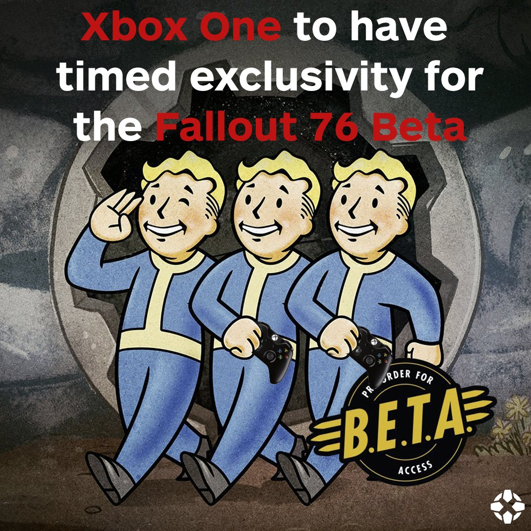 A nice little incentive for any Xbox One owners planning on stepping out of Vault 76.  https://t.co/0hvI80kjEB https://t.co/v6vpErjQk8
