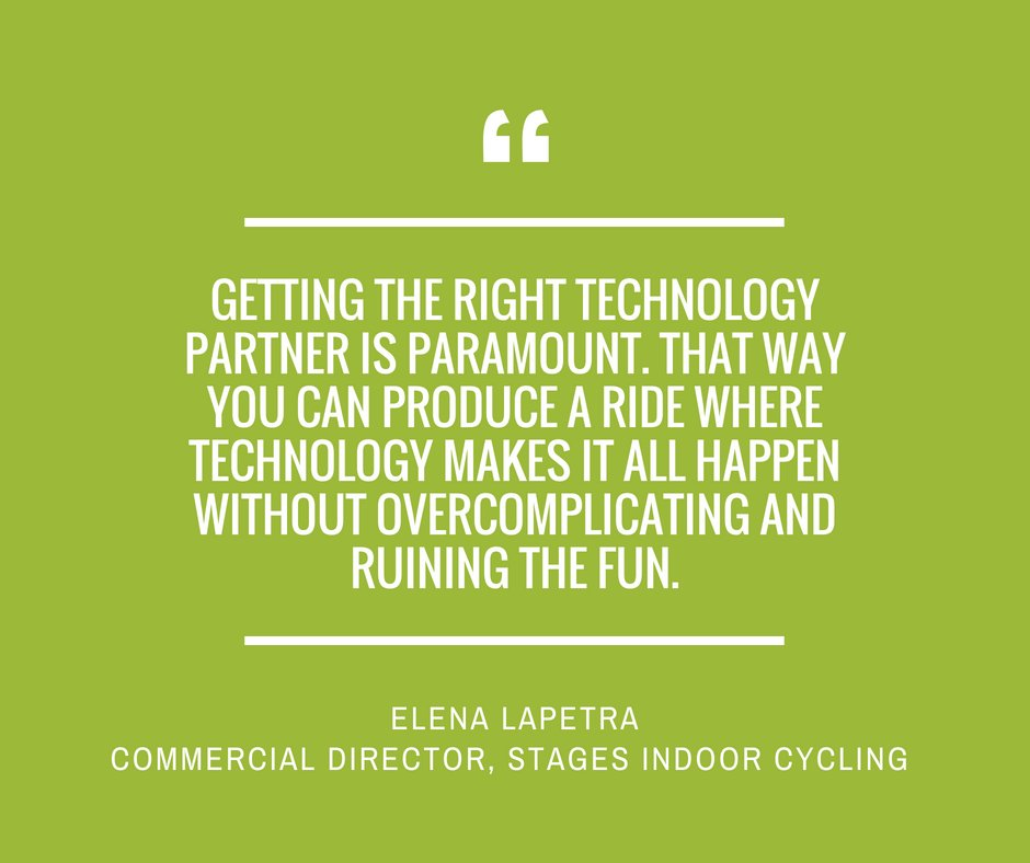 Image for Want to know where GroupX tech is headed for the world's leading fitness providers? We've been speaking to some to find out! Second to last in our series Elena Lapetra of @StagesIndoorUK discusses how tech is bringing two cycling demographics together: ht