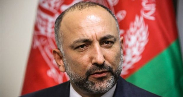 A high-level Afghan delegation led by NSA Atmar has arrived in Islamabad for talks with Pakistani officials.
