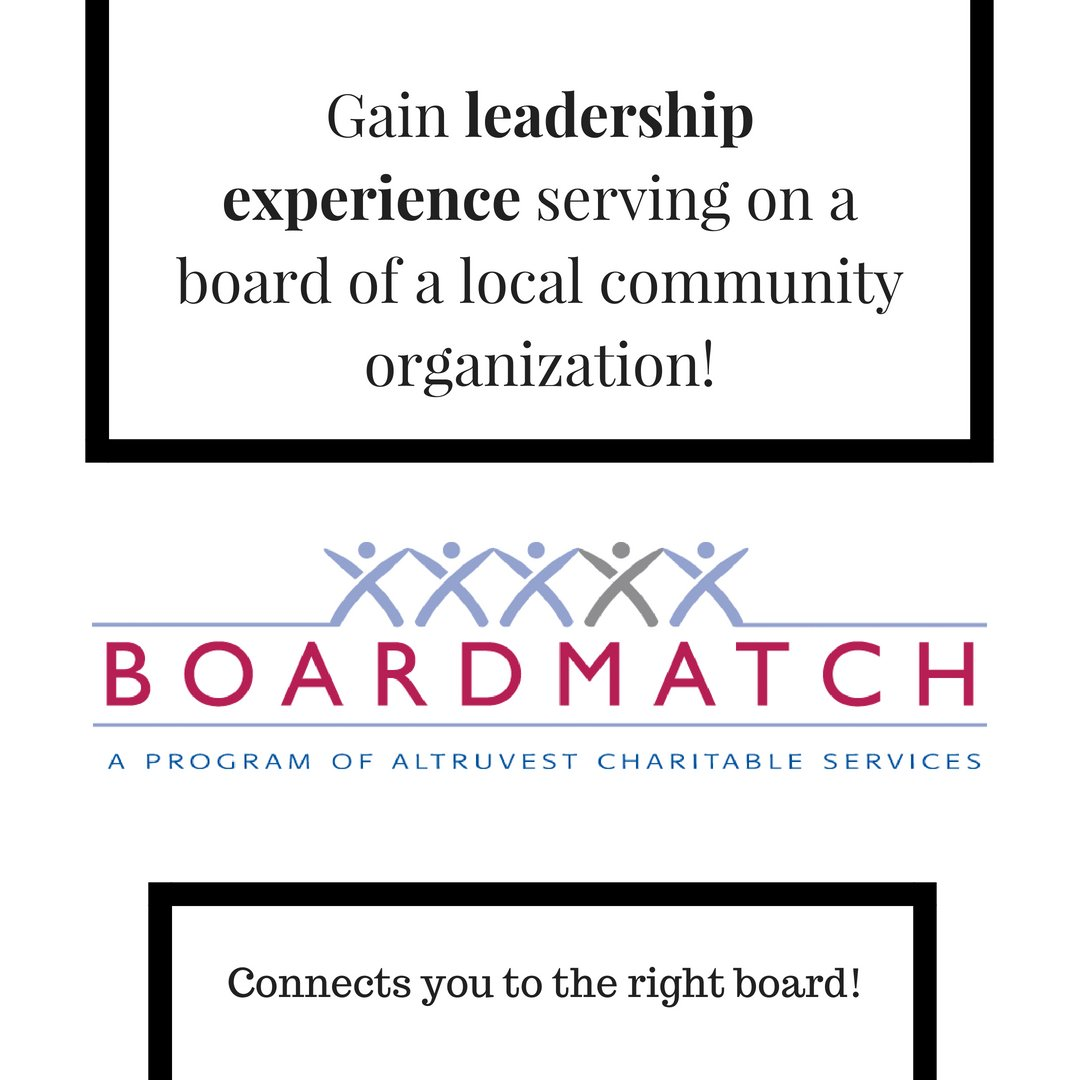 BoardMatch Connects the Right People to the Right Boards! #altruvest #boardmatch #leadership #improvement #charityCanada #charity #volunteer #leaders #communities #charities #leadershipskills Follow us:  Instagram: https://t.co/SpXCrglSzl   Facebook: https://t.co/0uPdyPIqnC …