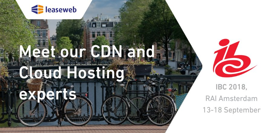 test Twitter Media - Meet our #experts at @IBCShow this year! Register with us and get your #Free ticket! https://t.co/Ijyn2a8O3W #Cloudhosting #Leaseweb https://t.co/nQB8V3RWUR