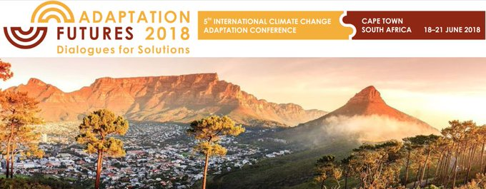 .@AdaptFutures is a world leading conference on #ClimateChange adaptation & we are glad that this year for the first time the conference is held on the African continent. Want to learn more? Follow the hashtag #AF2018. Photo