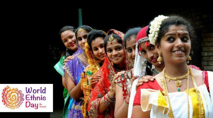 कश्मीर से लेकर असम तक; जानिये भारतीय वेशभूषा के विविध रंग! hindi.thebetterindia.com/?p=5304 #WorldEthnicDAy