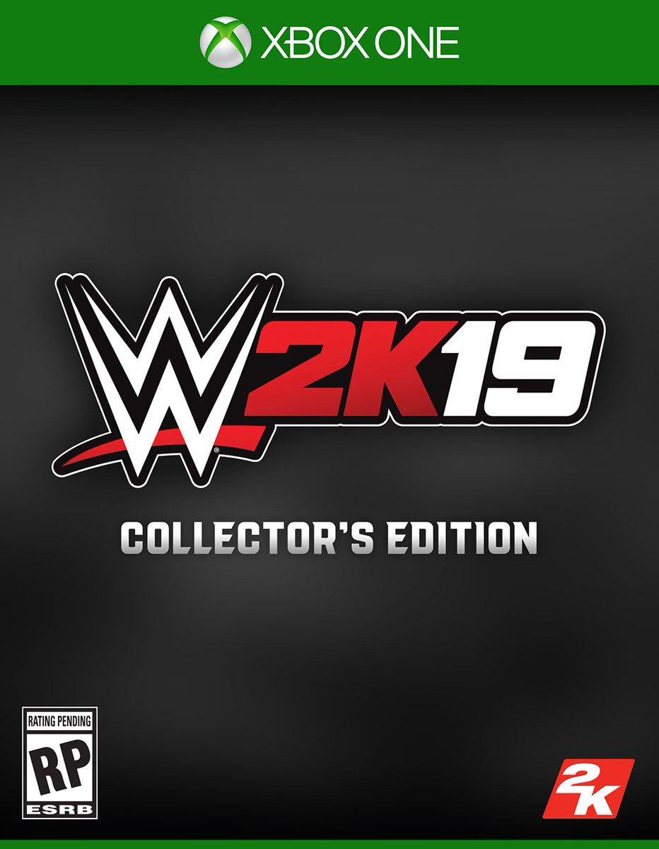 wwe 2k19 collectors edition amazon