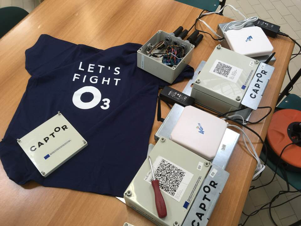 test Twitter Media - #CaptorProject devices ready for the #CitizenScience campaign to measure ozone pollution concentrations in the italian territories of Bergamo and Emilia-Romagna https://t.co/KGUjAzq9nd