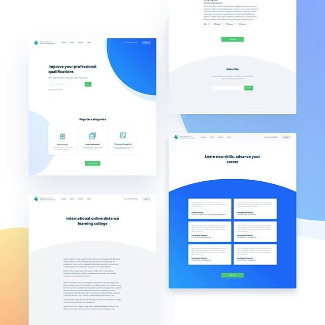 Further exploration of the visual language for an online learning website. . . #designthinking #uxdesigner #userexperience #interactiondesign #sitemap #mockup #userinterface #mobiledesign #appdesign #userexperiencedesign #uidesign #webdesign #uxdesigning…  https:// ift.tt/2yqQH6K  &nbsp;  <br>http://pic.twitter.com/88ezT5ljgc
