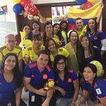 #VamosColombia EPI- USE compartiendo durante proyecto con POSTOBON; todos unidos por la selección #EPIUSE #POSTOBON #COLOMBIA