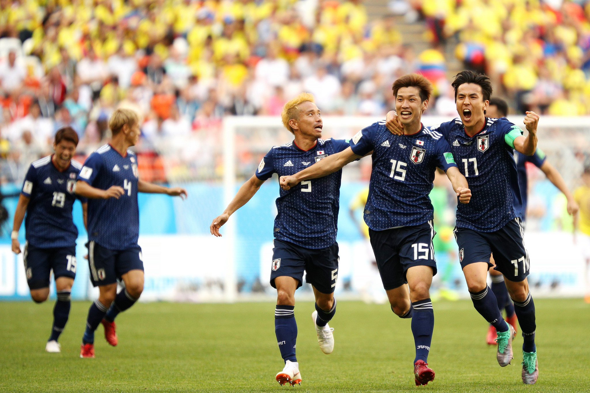 Video Colombia vs Japan 1-2 Highlights & Goals