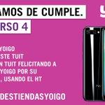 #FelicidadesTiendasYoigo Twitter Photo