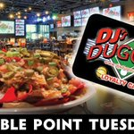 DOUBLE POINT TUESDAYS ARE BACK! In June, Loyalty Members earn 20% back every Tuesday on Food & Drink purchases! Not a member? Stop in & sign up today!