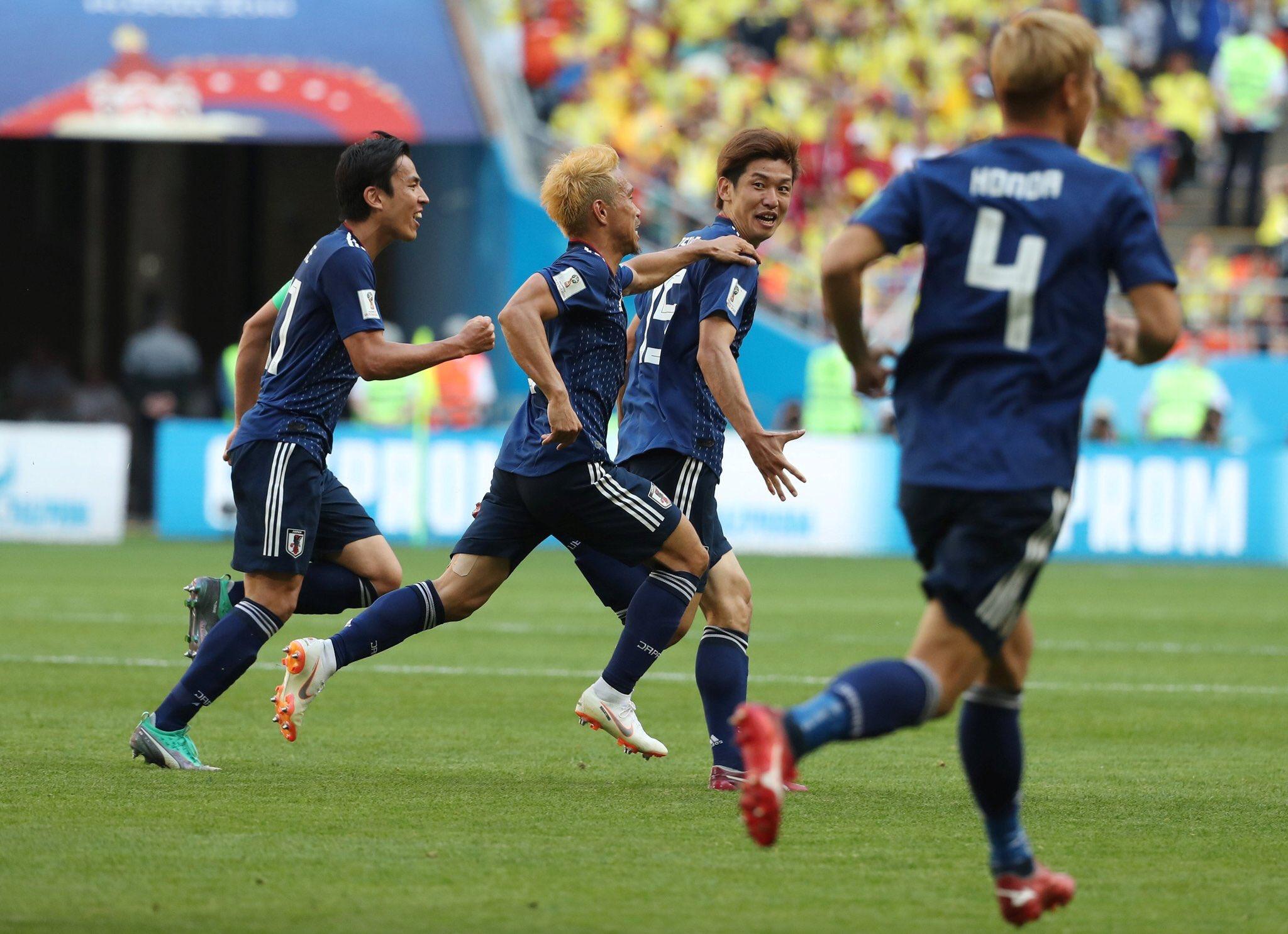 أهداف مباراة كولومبيا واليابان