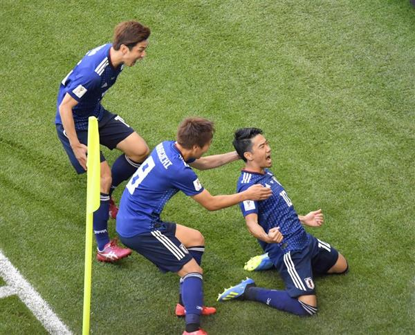 【速報】日本代表がコロンビアに勝利!!!  #ワールドカップロシア2018  #日本代表戦  #コロンビア戦