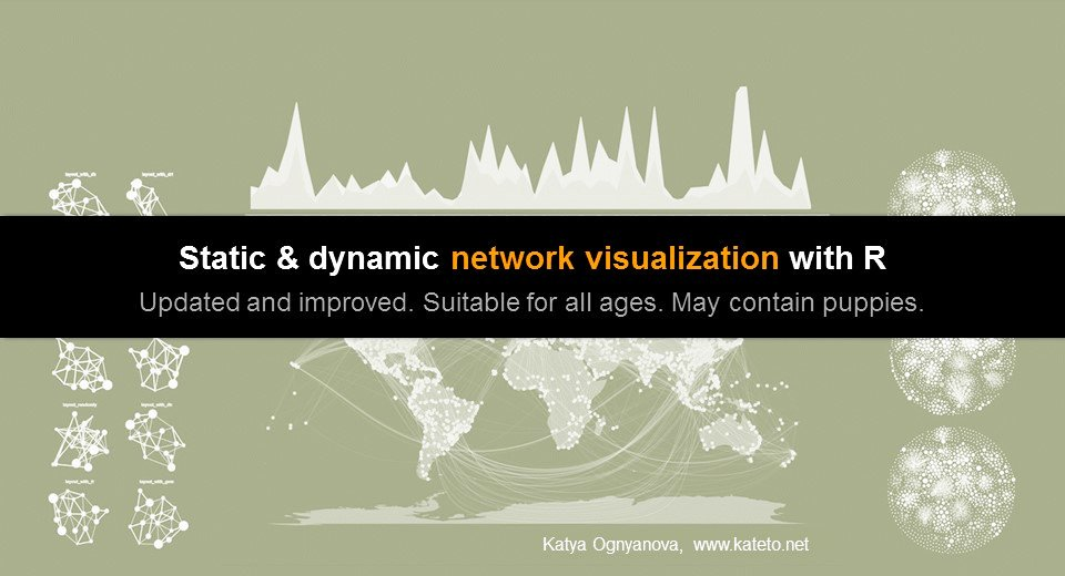 Katherine Ognyanova On Twitter Network Visualization With R