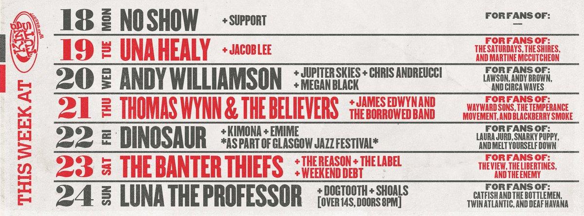 THIS WEEK (18/06/18) IN THE HUT.  Full listings &amp; tickets →  http:// ktwwh.co/listings  &nbsp;  <br>http://pic.twitter.com/jGSjj2G4iX