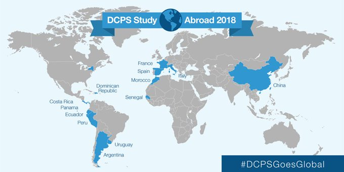 For the next few weeks, a different DCPS Study Abroad trip is taking over our Instagram account for #TravelTuesday! Follow us on Instagram (@dcpublicschools) to see what's happening on our Middle School Spanish-immersion trip to Spain! #DCPSGoesGlobal Photo