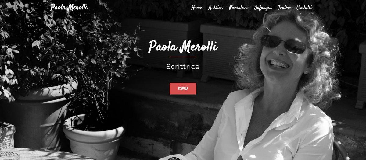 Il mio nuovo sito web vi aspetta! Un luogo ideato per condividere con voi libri, immagini, curiosità e pensieri:  http:// www.paolamerolli.com/ #sitoweb #autrice #newwebsite #nuovosito #PaolaMerolli #scrittrice #libri #narrativa #teatro #infanzia #leggiamo #booktrailer  - Ukustom