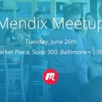 [Mendix Baltimore Meetup] Join us to meet your fellow Mendix users and to learn how to leverage our low-code platform to build a mobile version of one of your existing applications. We'll be serving pizza and cocktails as well! https://t.co/vzuxZDtqQU #lowcode #MxMeetup